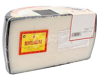 Montelarreina Queso mezcla semicurado 1/2 pieza montlarreina 1500 gramos aproximados