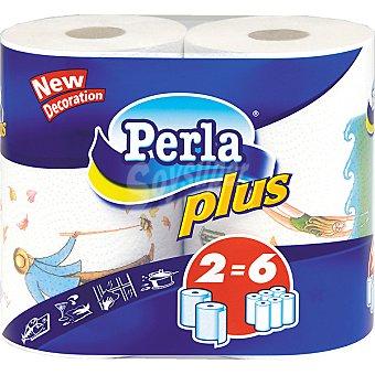 Perla Rollos cocina Plus Paquete 2 unidades