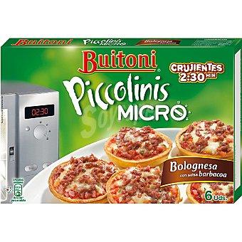 Buitoni Piccolinis Piccolinis micro a la boloñesa Caja 180 g