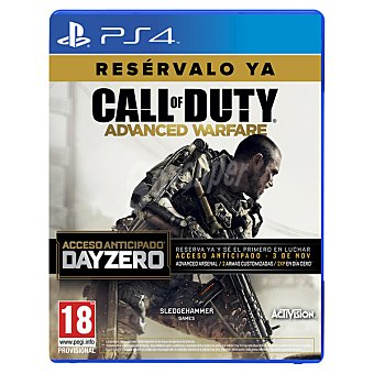 PS4 Videojuego Call Of Duty: Advanced Warfare Edición Day Zero 1 Unidad