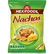 Nachos sabor queso bolsa 200 g Mexifoods