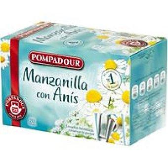 Pompadour Manzanilla con anís Caja 20 sobres