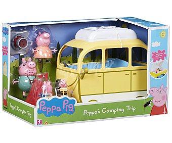 Bandai Vehículo Autocaravana de Camping de Peppa Pig bandai