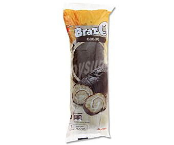 Auchan Brazo de cacao 200 gr