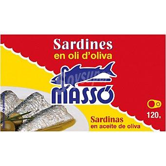 Masso Sardinas en aceite de oliva Lata 85 g neto escurrido