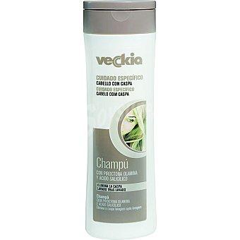 Veckia Champú anticaspa con piroctona olamina y ácido salicílico para cabello con caspa Frasco 400 ml