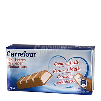 Carrefour Barrita de chocolate con leche 200 g