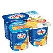 Yogur Macedonia sin gluten Pack 4x125 g Clesa