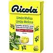 Caramelos balsamicos de hierbas suizas sin azucar sabor limon-melisa caja 50 g 50 g Ricola