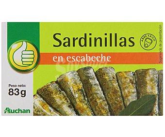 Productos Económicos Alcampo Sardinillas En Escabeche 65 Gramos
