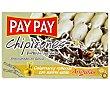 Chipirones rellenos con surimi estilo angulas Lata de 72 grs Pay Pay