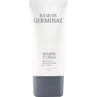 GERMINAL Básicos crema de manos y uñas para una hidratación prolongada  tubo 50 ml