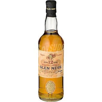GLEN NESS Whisky escocés Blended 12 años elaborado para grupo El Corte Inglés Botella 70 cl