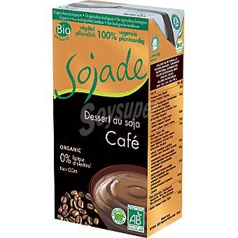 Sojade postre de soja sabor chocolate 100% vegetal ecológico y sin lactosa  envase 530 g