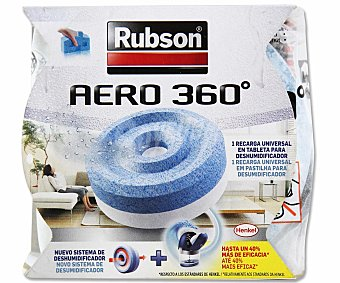 Rubson Tableta recambio de para deshumidifador Aéro360 rubson 450 gramos