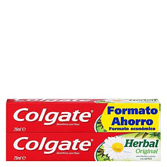Colgate Dentífrico Herbal Tubo Duplo Pack 2x75 ml