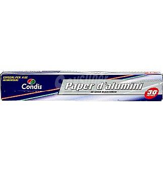 Condis Papel aluminio 30 mts