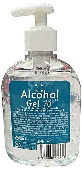 Deliplus Alcohol masajes 70 grados dosificador Botella de 250 ml