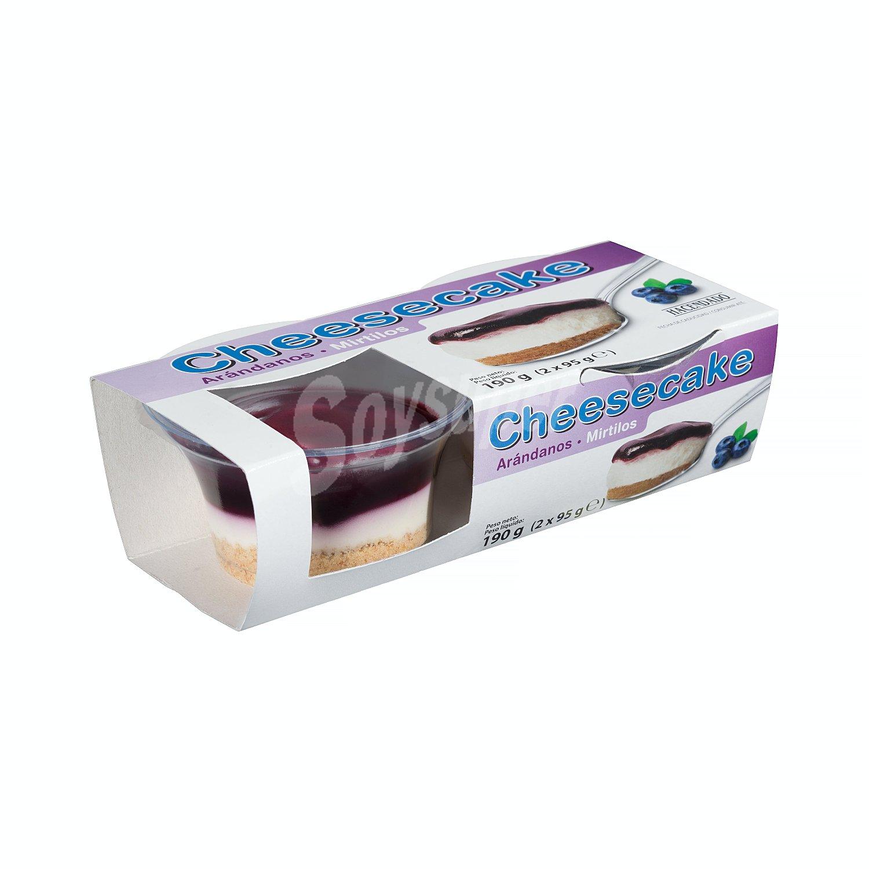 postre lacteo tarta queso con arandanos mercadona