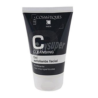 Les Cosmétiques Gel exfoliante facial hombre 100 ml