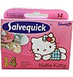 Apósitos salvequick 14 unidades Hello Kitty