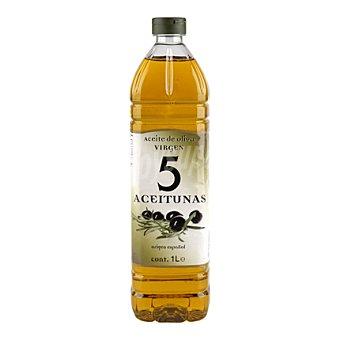 5 Aceitunas Aceite de oliva virgen 1 l