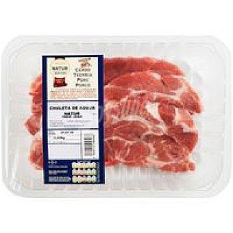 Eroski Natur Chuleta de aguja de cerdo Eroski Bandeja 450 g