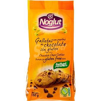 Santiveri Noglut Galletas con pepitas de chocolate sin gluten Envase 150 g