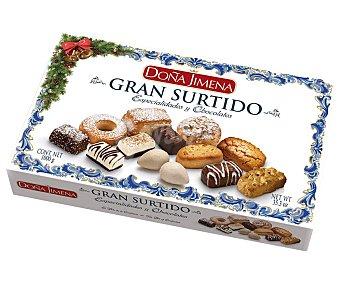Doña Jimena Surtido de dulces navideños Caja 1 kg