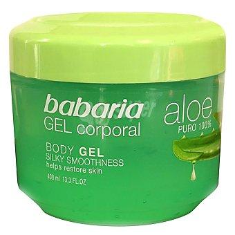 Babaria Gel corporal con aloe vera 400 ml