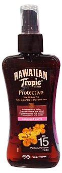 Hawaiian Tropic Protector solar corporal fps 15 (aceite) Botella 200 cc