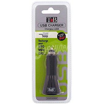 Tnb Cargador universal de coche con USB