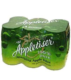 Appletiser Refresco con gas sabor manzana Pack de 6 latas de 27.5 cl
