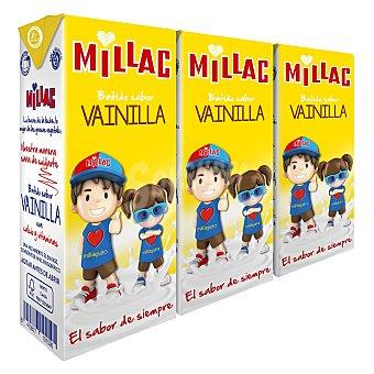 Millac Batido de vainilla pack 3 envases 200 ml