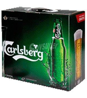 Carlsberg Cerveza Botella de 33 cl
