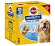 Snack dental para perros de talla gran 56 uds de 2160 g Pedigree Dentastix