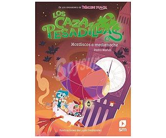 EDICIONES SM Los cazapesadillas, mordiscos a medianoche, pedro mañas romero. Género infantil. Ediciones SM.