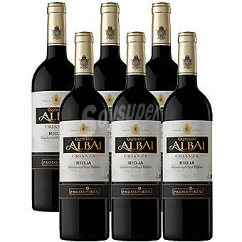 Castillo de Albai vino tinto crianza D.O. Rioja Caja 6 botellas 75 cl