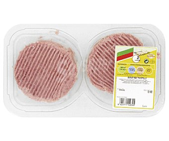 CAMPOGRIL Burger meat pavo-pollo sin gluten Bandeja de 4 unidades