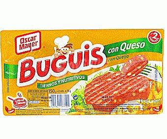 Oscar Mayer Buguis con queso 150 g