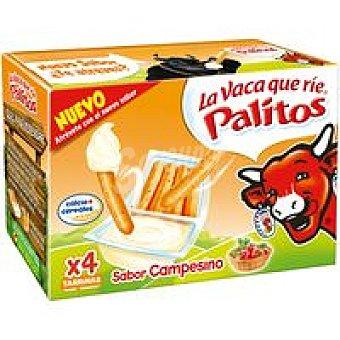 La Vaca que ríe Palitos campesinos 4 unid