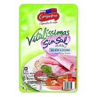 Campofrío Jamón cocido menos sal vitalissimas 125 g