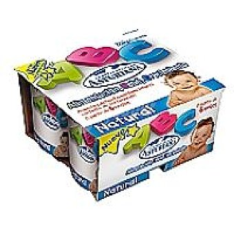 CLAS Bebé Yogur natural Pack 4x125 g