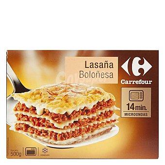 Carrefour Lasaña boloñesa 500 g