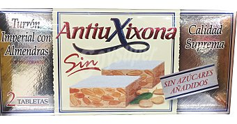 Antiu Xixona Turron duro alicante Pastilla de 500 g