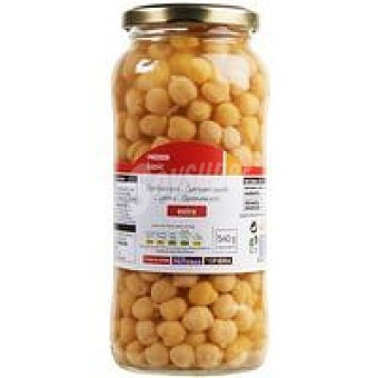 Eroski Basic Garbanzos cocidos Frasco 400 g