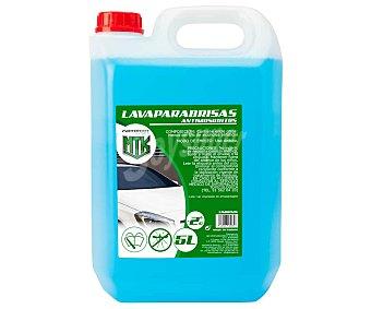 MOTORKIT 5 litros de líquido limpia parabrisas con antimosquitos, MOTORKIT. 5 litros
