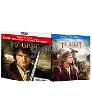 Hobbit:un viaje in dvd+br+dc