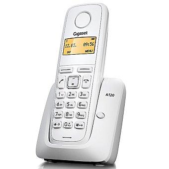 GIGASET Teléfono inalámbrico dect color blanco A120