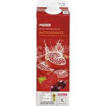 Eroski Néctar antiox uva-frambuesa-granada Botella 1 litro
